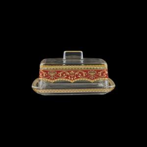 Victoria DO VEGR Butter Dose 14,5x12cm, 1pc in Flora´s Empire Golden Red L. (22-5K0F/L)