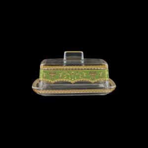 Victoria DO VEGG Butter Dose 14,5x12cm, 1pc in Flora´s Empire Golden Green L. (24-5K0F/L)