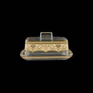 Victoria DO VEGI Butter Dose 14,5x12cm, 1pc in Flora´s Empire Golden Ivory L. (25-5K0F/L)