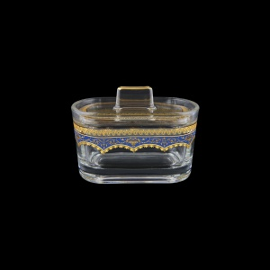 Victoria DO VEGC Sugar Dose 12,6x9cm, 1pc in Flora´s Empire Golden Blue L. (23-5K0G/L)
