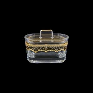 Victoria DO VEGB Sugar Dose 12,6x9cm, 1pc in Flora´s Empire Golden Black L. (26-5K0G/L)