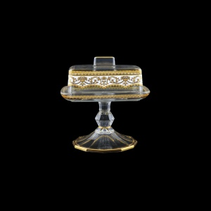 Victoria DOB VEGW Butter Dose 14,5x12cm, 1pc in Flora´s Empire Golden White L. (21-5K0L/L)