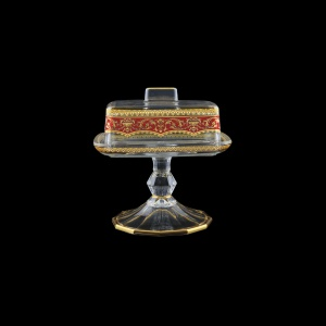 Victoria DOB VEGR Butter Dose 14,5x12cm, 1pc in Flora´s Empire Golden Red L. (22-5K0L/L)