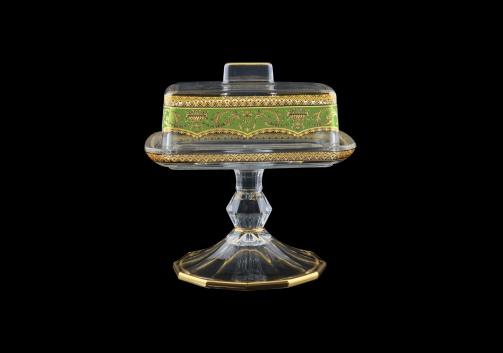 Victoria DOB VEGG Butter Dose 14,5x12cm, 1pc in Flora´s Empire Golden Green L. (24-5K0L/L)