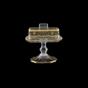 Victoria DOB VEGB Butter Dose 14,5x12cm, 1pc in Flora´s Empire Golden Black L. (26-5K0L/L)