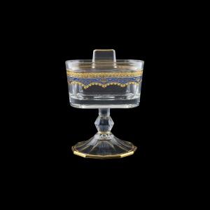 Victoria DOB VEGC Sugar Dose 12,6x9cm, 1pc in Flora´s Empire Golden Blue D. (23-5K0Q/L)