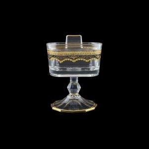Victoria DOB VEGB Sugar Dose 12,6x9cm, 1pc in Flora´s Empire Golden Black D. (26-5K0Q/L)