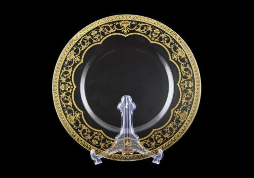 Rialto CP RELKCake Plate  d35cm 6pcs in Flora´s Empire Golden Crystal L. (20-932/6/L)