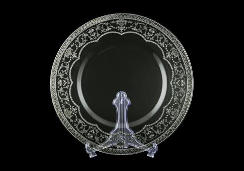 Rialto CP RESK Cake Plate d35cm 6pcs in Flora´s Empire Platinum Crystal L. (20-1/932/6/L)