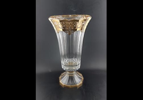 Doge VVA F0020 Large Vase 40cm 1pc in Natalia Golden Crystal (F0020-1A50)
