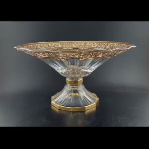 Doge MOA F0025 Large Bowl d34cm 1pc in Natalia Golden Ivory (F0025-1A21)
