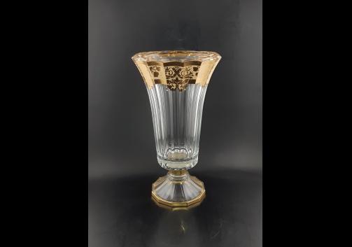 Doge VVA F0025 Large Vase 40cm 1pc in Natalia Golden Ivory (F0025-1A50)