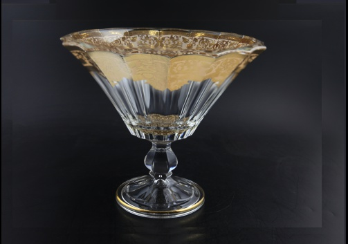Doge MSH F0025 Large Bowl d26cm 1pc in in Natalia Golden Ivory Decor (F0025-1A28)
