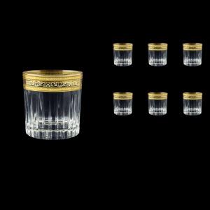 Timeless B3 TALK Whisky Glasses 313ml 6pcs in Allegro Golden Light Decor (65-0803/L)