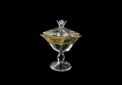Decoration: Quadron DOH QALK Dose 125, 12,5cm 1pc in Allegro Golden Light (65-6EAQ/L/F)