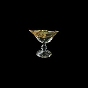 Decoration: Quadron MMH QALK Bowl 125, 12,5cm 1pc in Allegro Golden Light (65-6E6U/L/F)