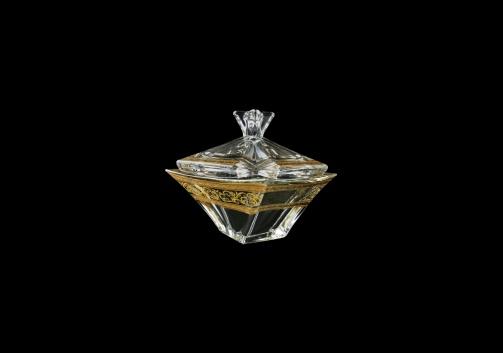 Decoration: Quadron DO QALK Dose 125, 12,5cm 1pc in Allegro Golden Light (65-6EA4/L/F)